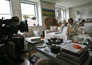 Joan Didion; New York apartment