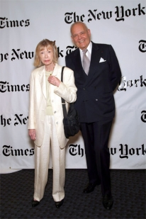 Joan Didion and Robert Silvers
